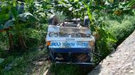 Asisbiz Truck accident Calapan to Pinamalayan roadside views Oriental Mindoro Philippines Feb 2006 03