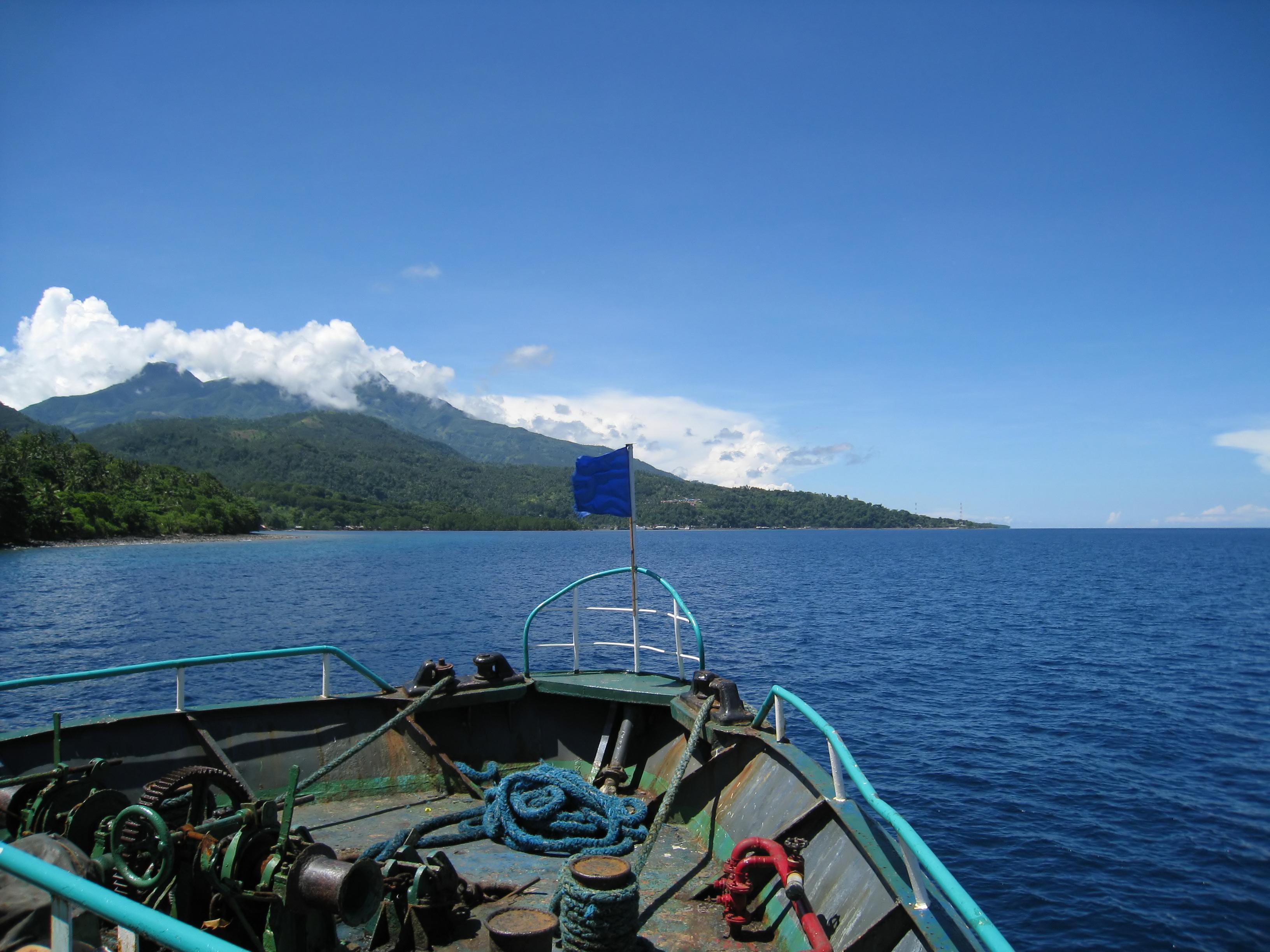 Philippines Camiguin Camiguin Island Ferry 01