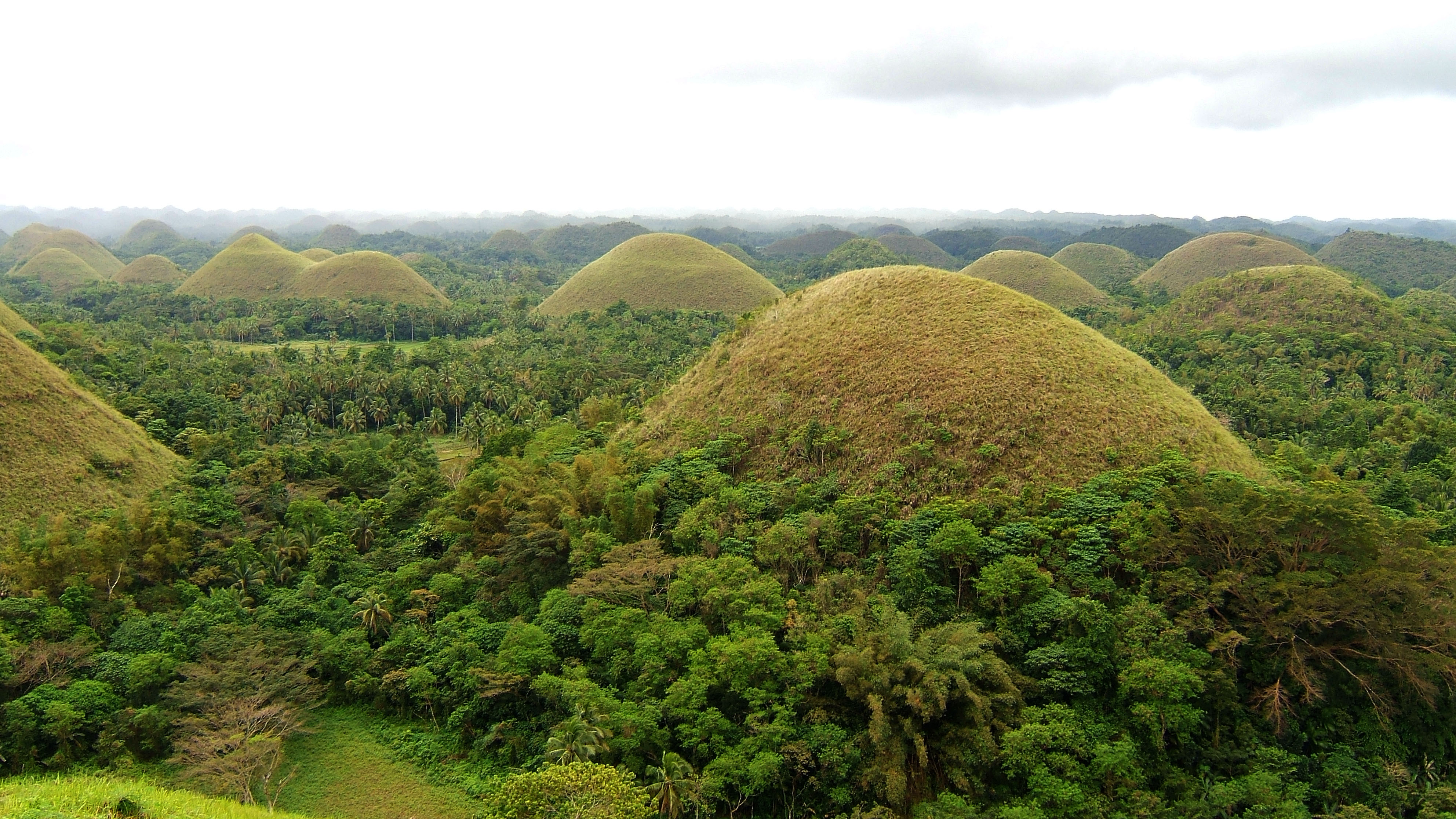 Philippines Sagbayan Batuan Carmen Bohol Chocolate Hills Dec 2005 02