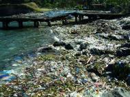 Asisbiz Corregidor evidence of illegal dumping of rubbish Manila Harbor 2005 01