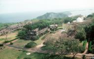 Asisbiz Philippines Corregidor Island Aerial view of the ruins 01