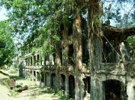 Asisbiz Philippines Corregidor Island Topside Barracks ruins Jan 2005 03