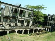 Asisbiz Philippines Corregidor Island Topside Barracks ruins Jan 2005 06