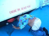 Asisbiz Manila to Coron ferry ride can be alot of fun Palawan Philippines Nov 2004 04