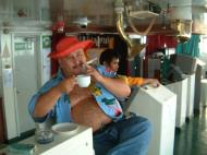 Asisbiz Manila to Coron ferry ride can be alot of fun Palawan Philippines Nov 2004 09