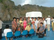 Asisbiz Manila to Coron ferry ride can be alot of fun Palawan Philippines Nov 2004 19