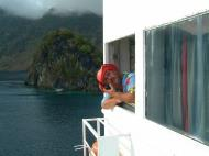 Asisbiz Manila to Coron ferry ride can be alot of fun Palawan Philippines Nov 2004 21