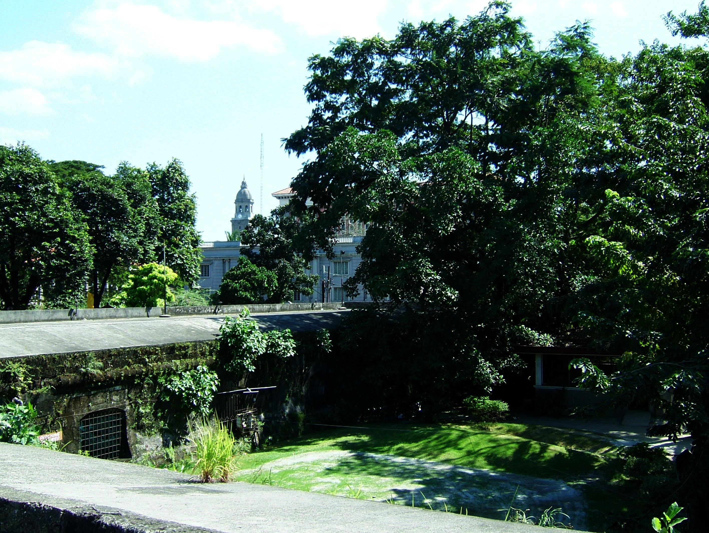 Philippines Luzon Manila Fort Santiago grounds Dec 2003 02