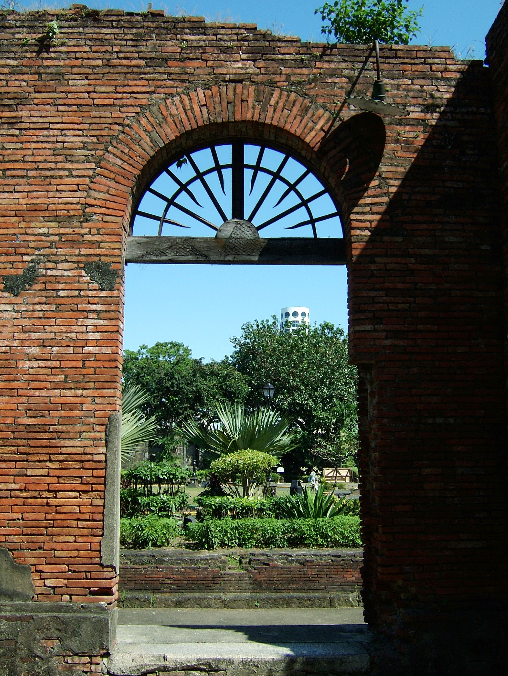Philippines Luzon Manila Fort Santiago grounds Dec 2003 03