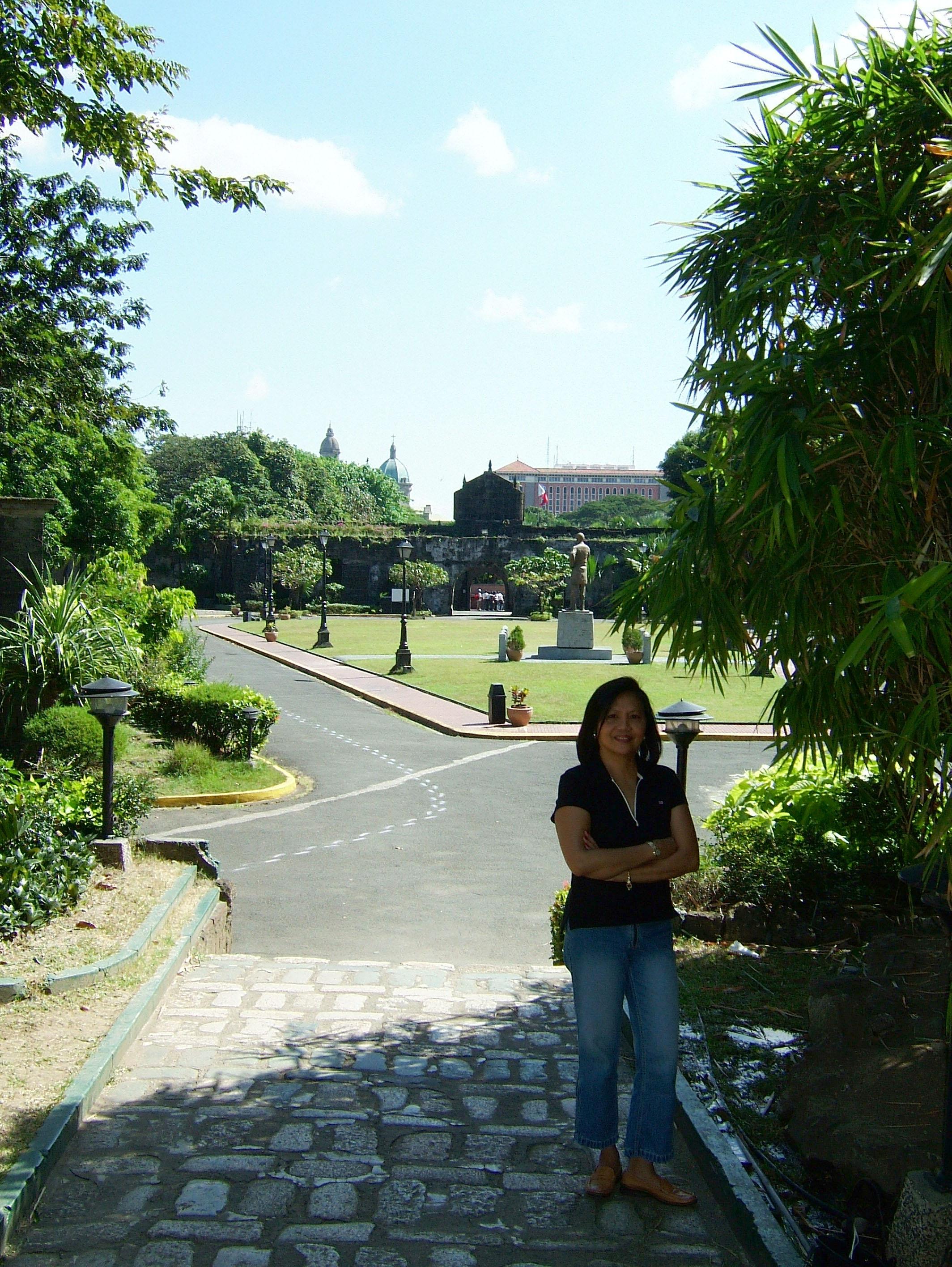 Teresita Soliman head of Soliman Security Manila Fort Santiago Dec 2003 10