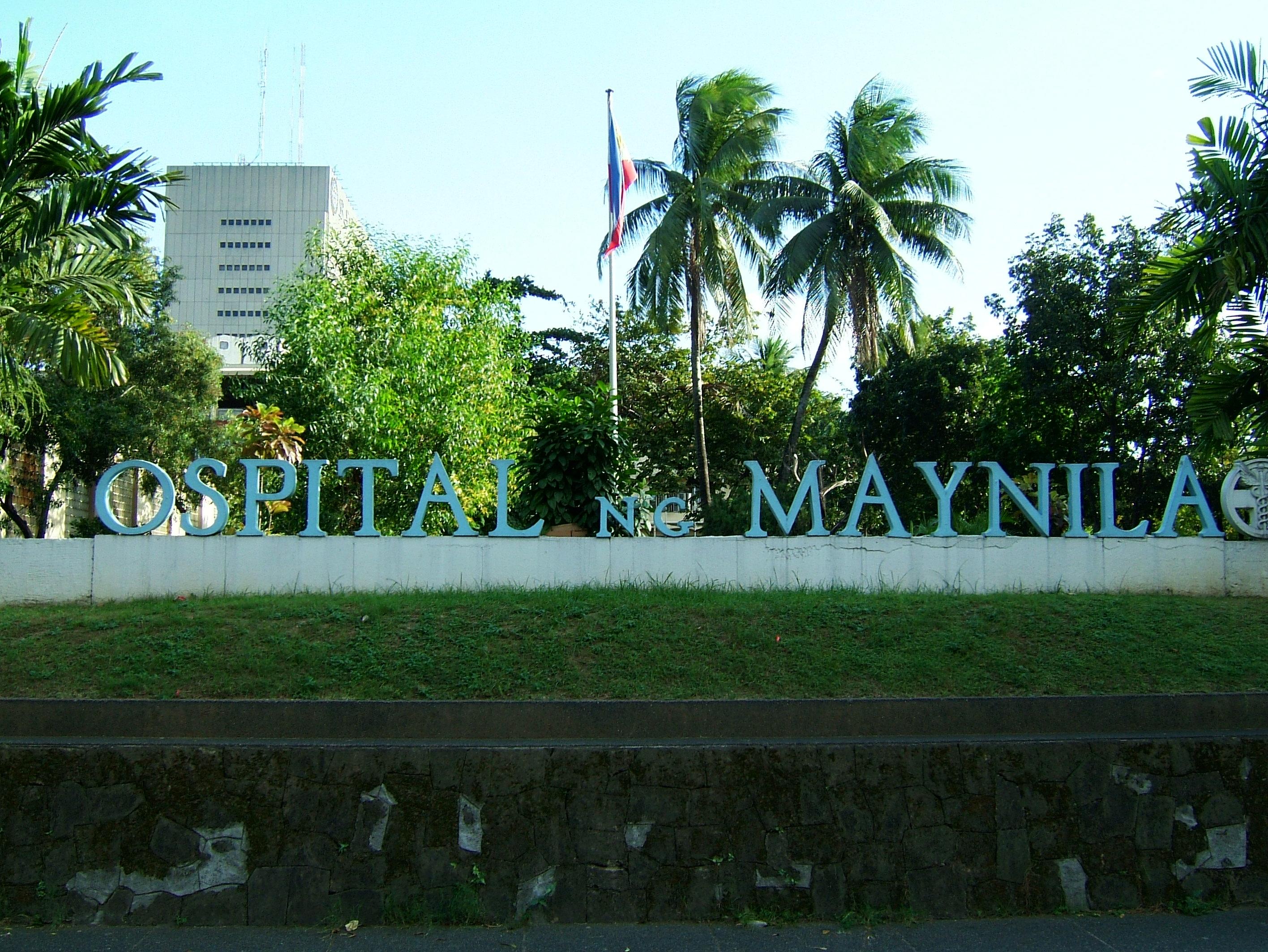 Ospital ng Maynila Medical Center corner Roxas Blvd Quirino Ave Dec 2003 01