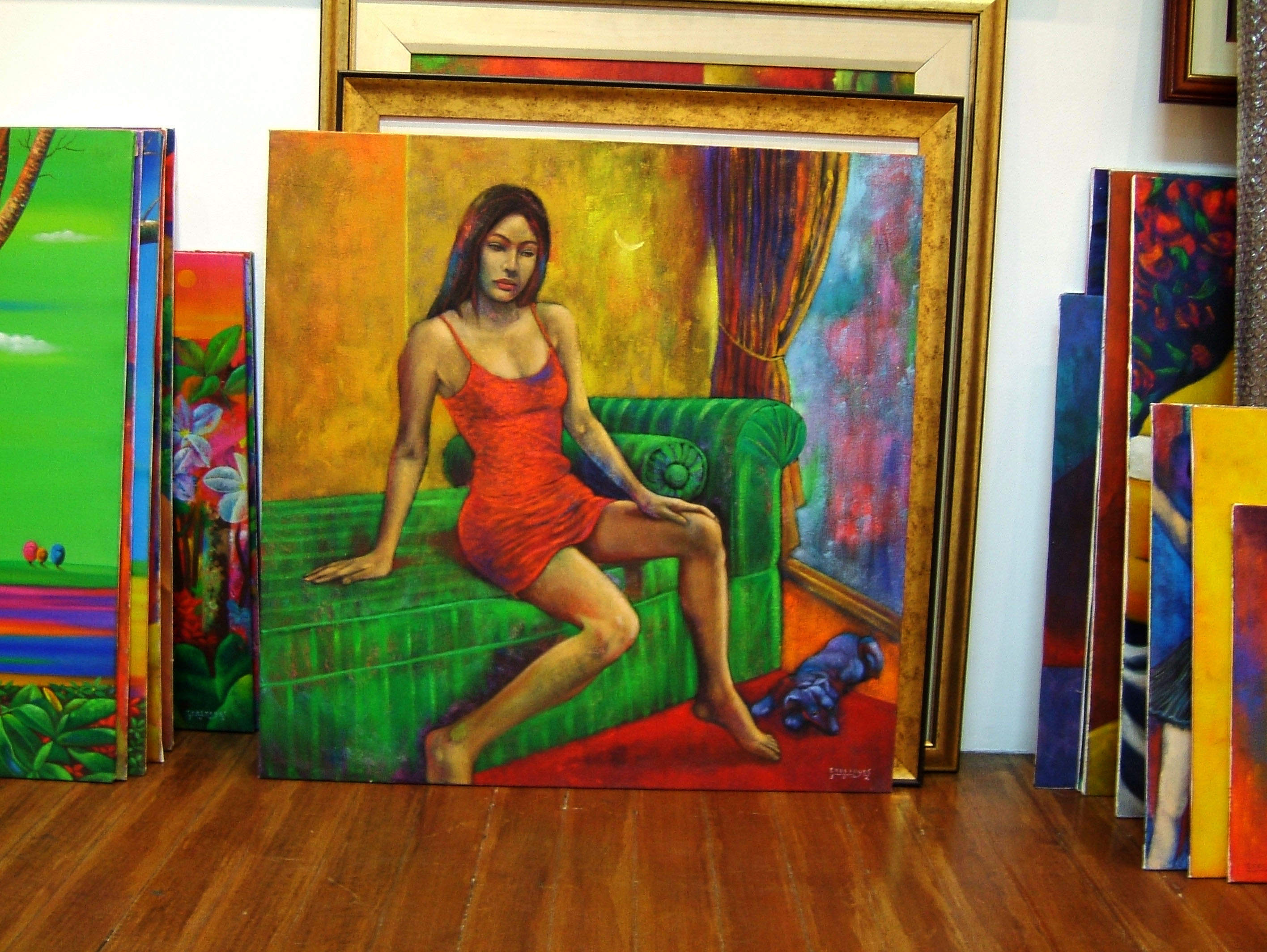 paintings by various local artists manila philippine 18