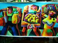 Asisbiz Paintings by various local artists Manila Philippine 11