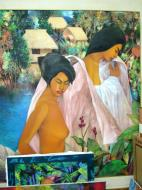 Asisbiz Paintings by various local artists Manila Philippine 21