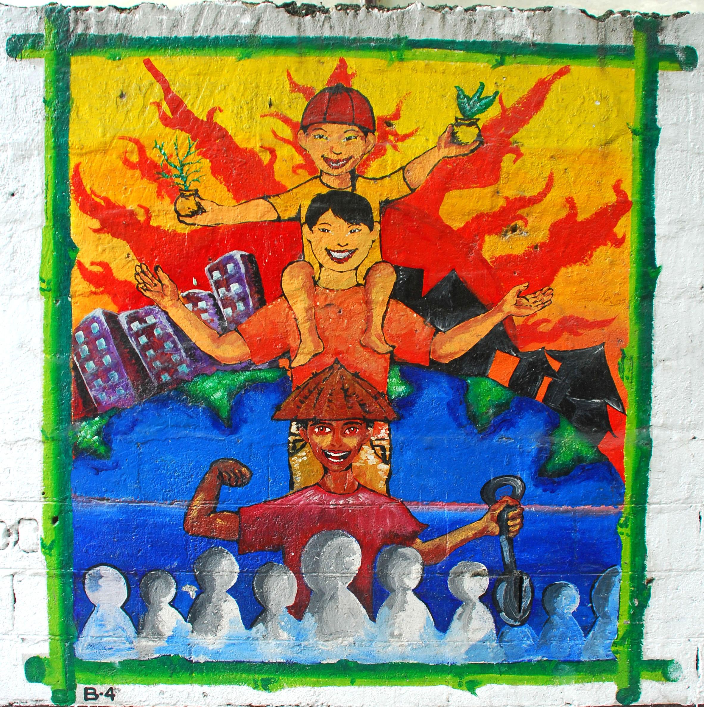 Murals Philippine Filipino Chinese Friendship Day 2007 05