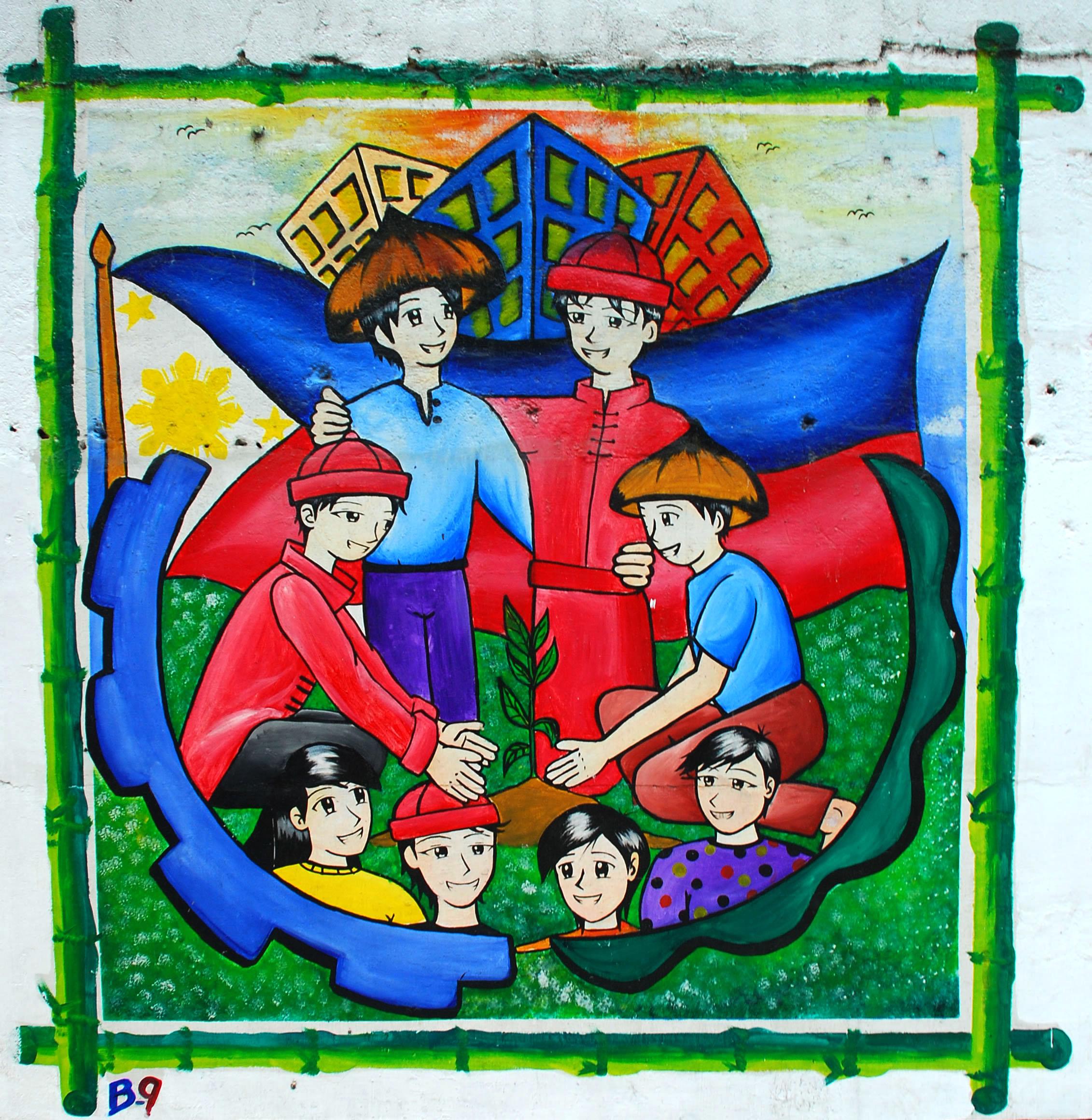 Murals Philippine Filipino Chinese Friendship Day 2007 10