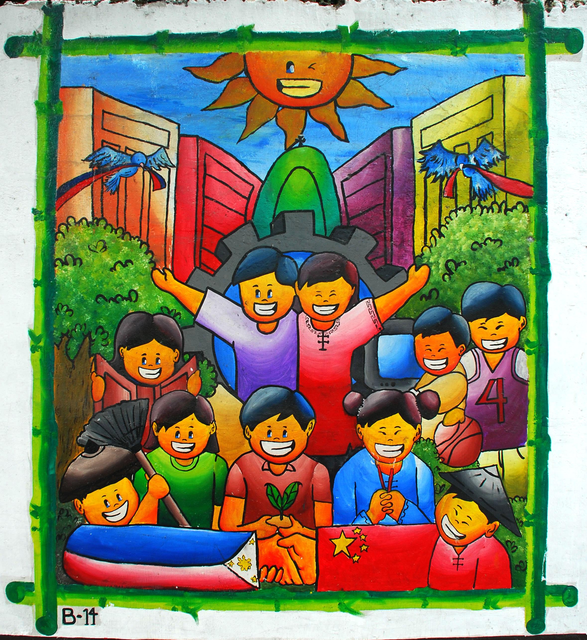 Murals Philippine Filipino Chinese Friendship Day 2007 14