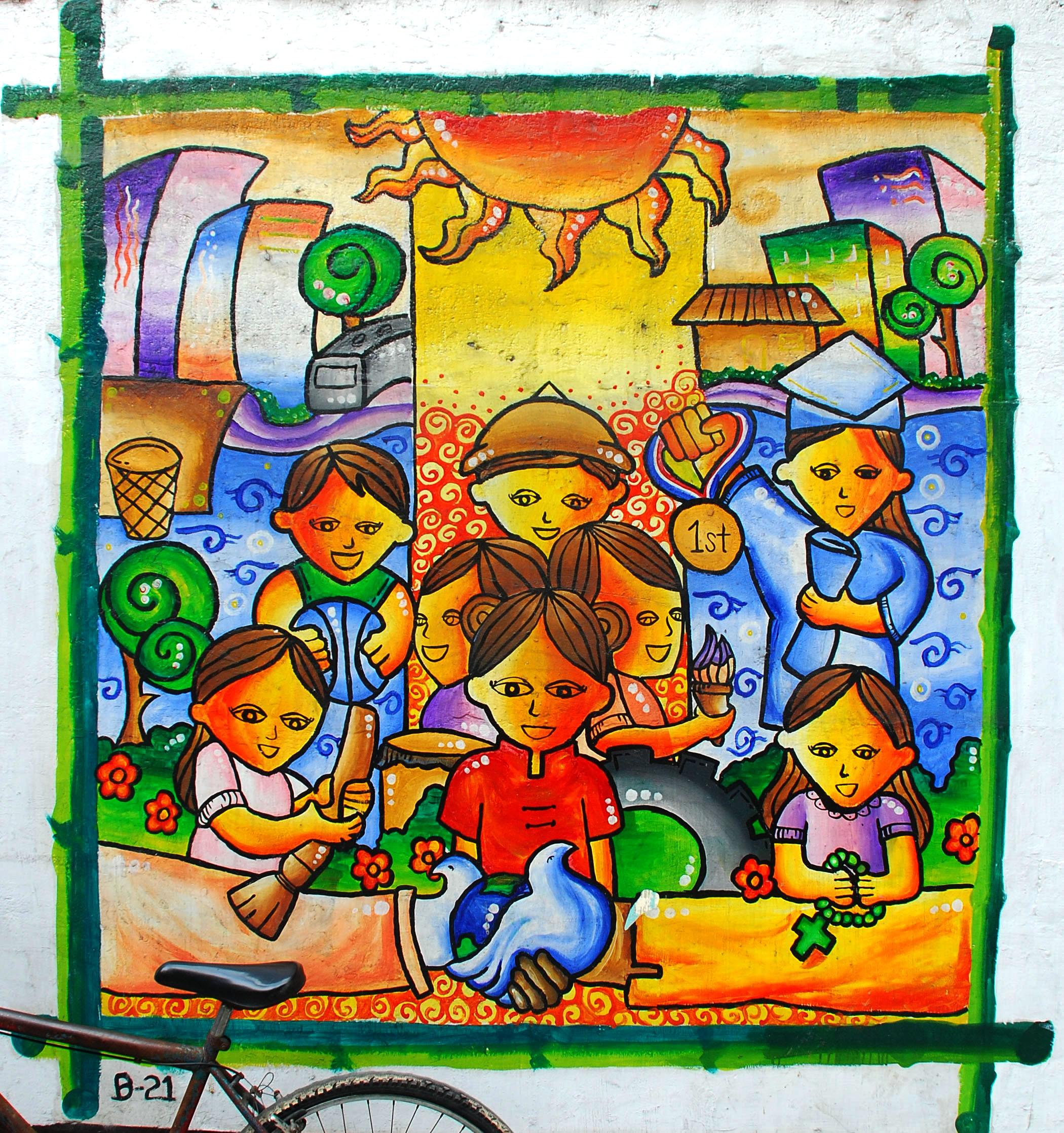 Murals Philippine Filipino Chinese Friendship Day 2007 20