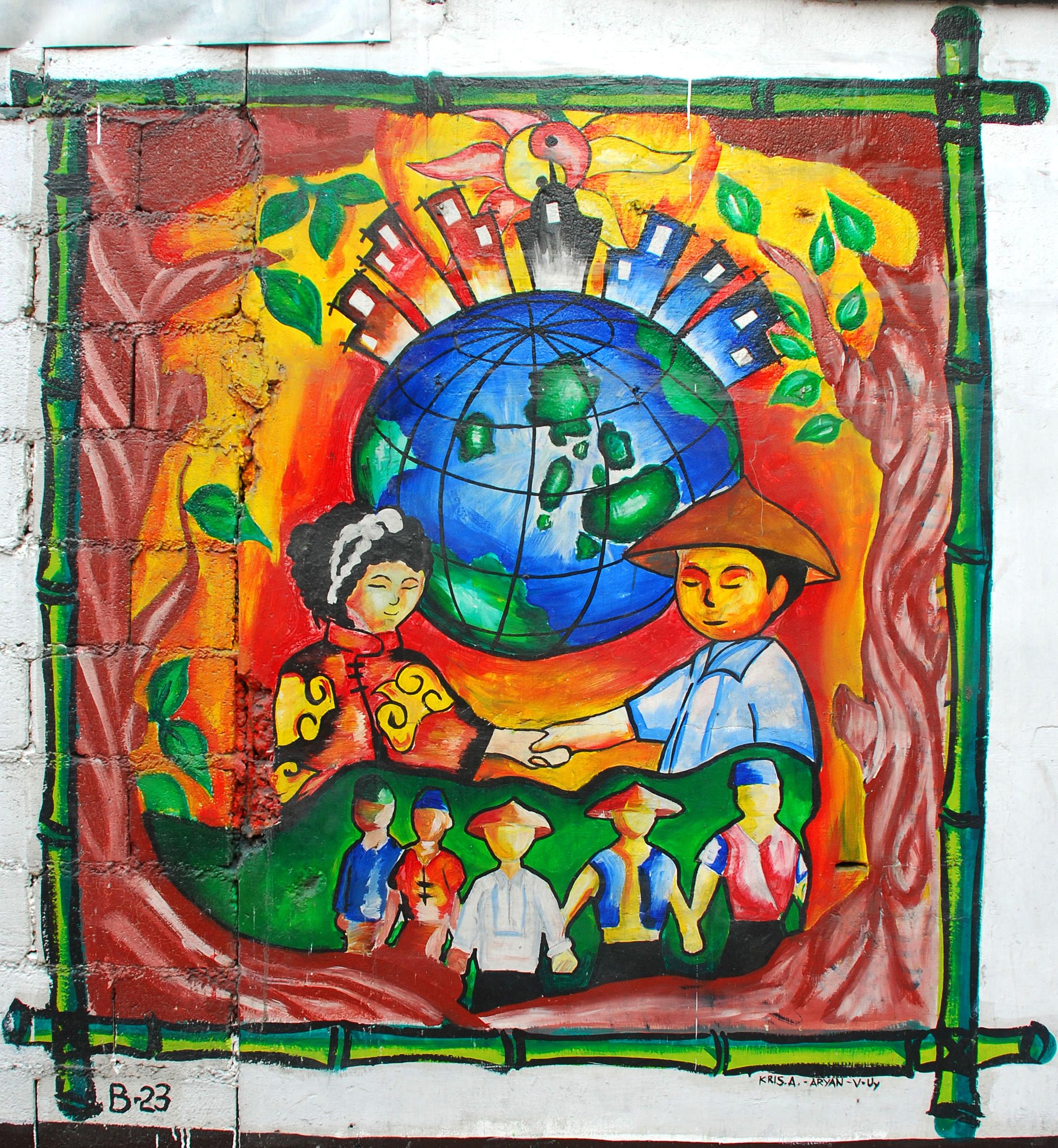 Murals Philippine Filipino Chinese Friendship Day 2007 22