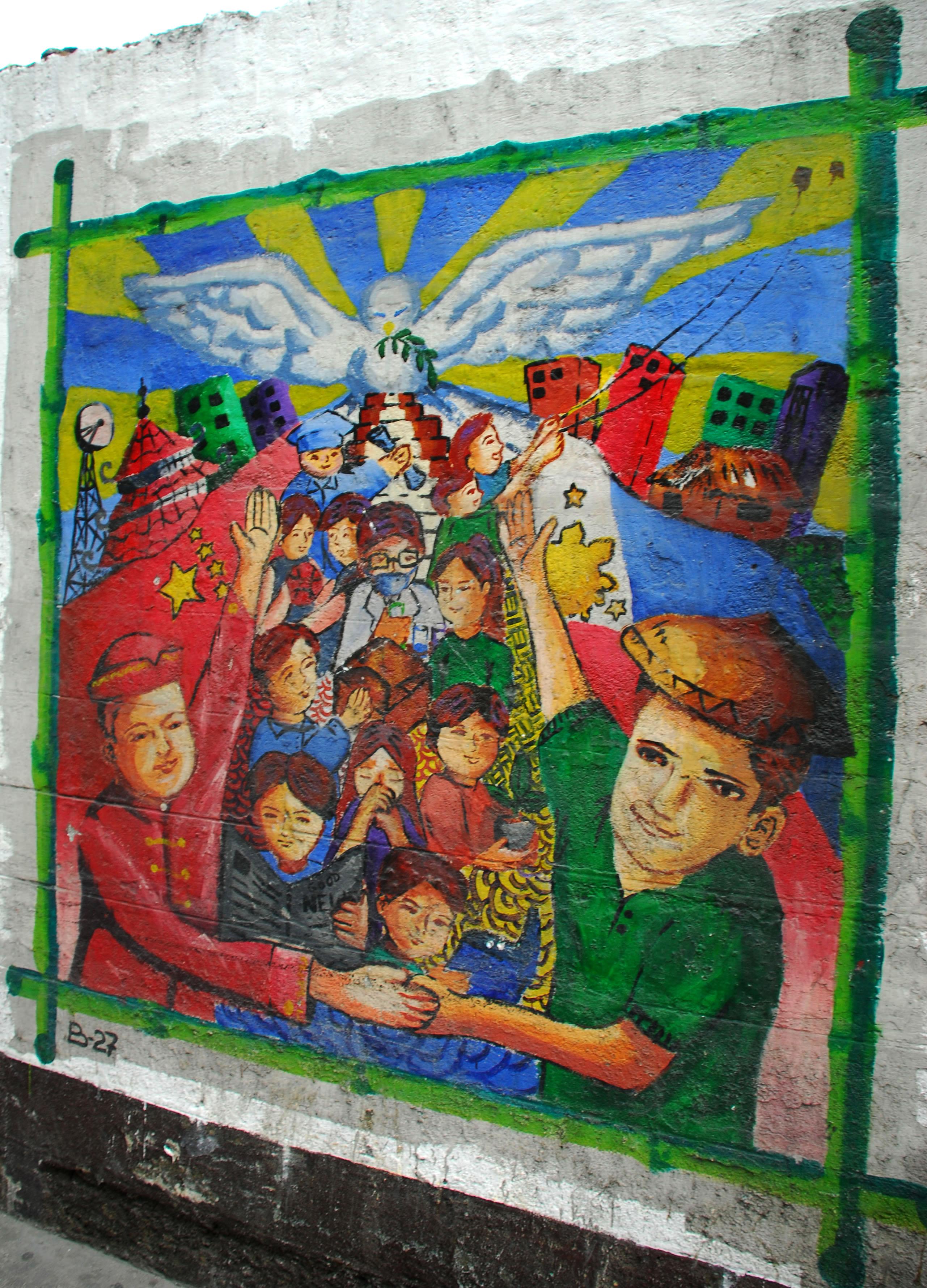 Murals Philippine Filipino Chinese Friendship Day 2007 26