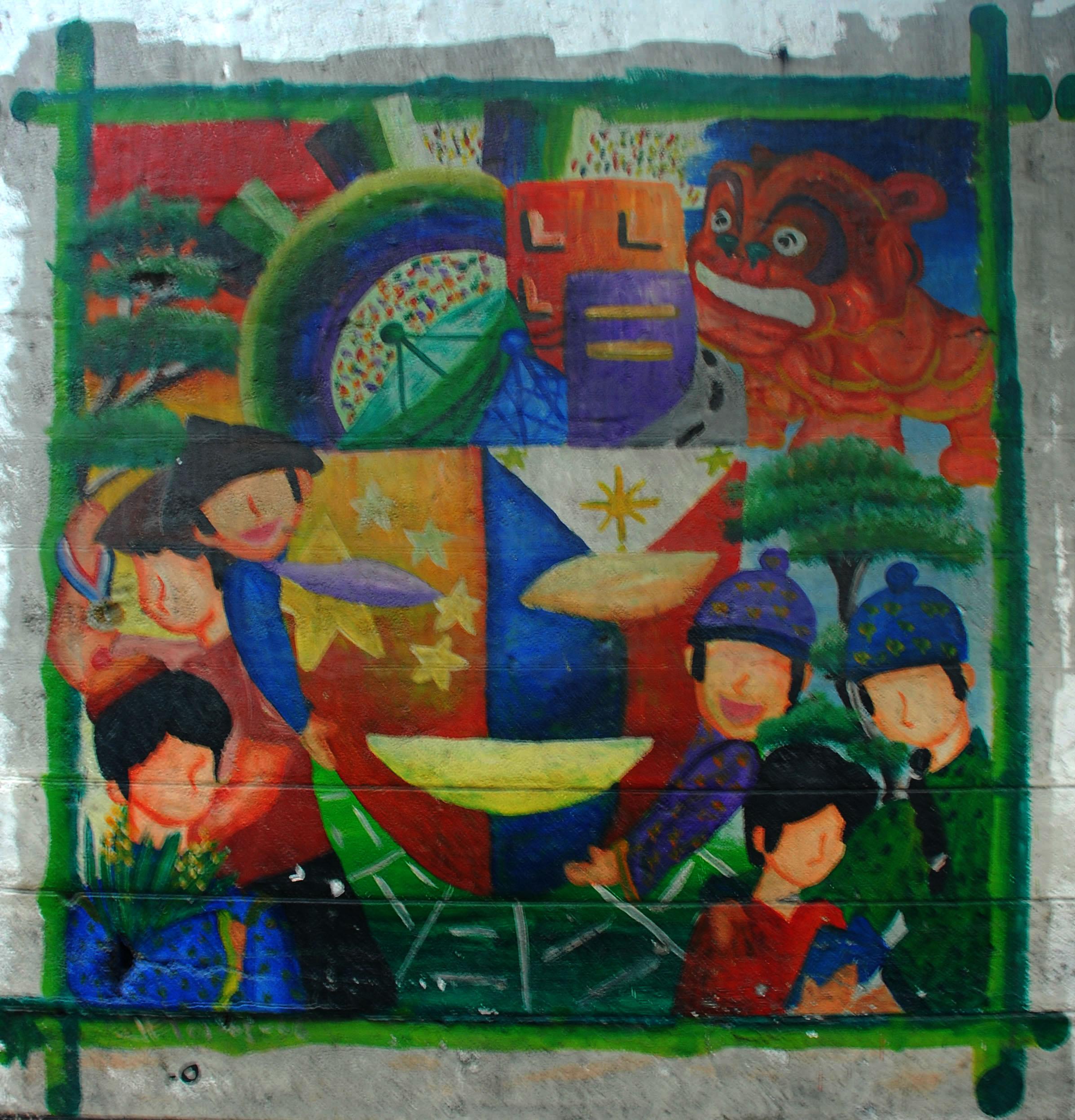Murals Philippine Filipino Chinese Friendship Day 2007 31
