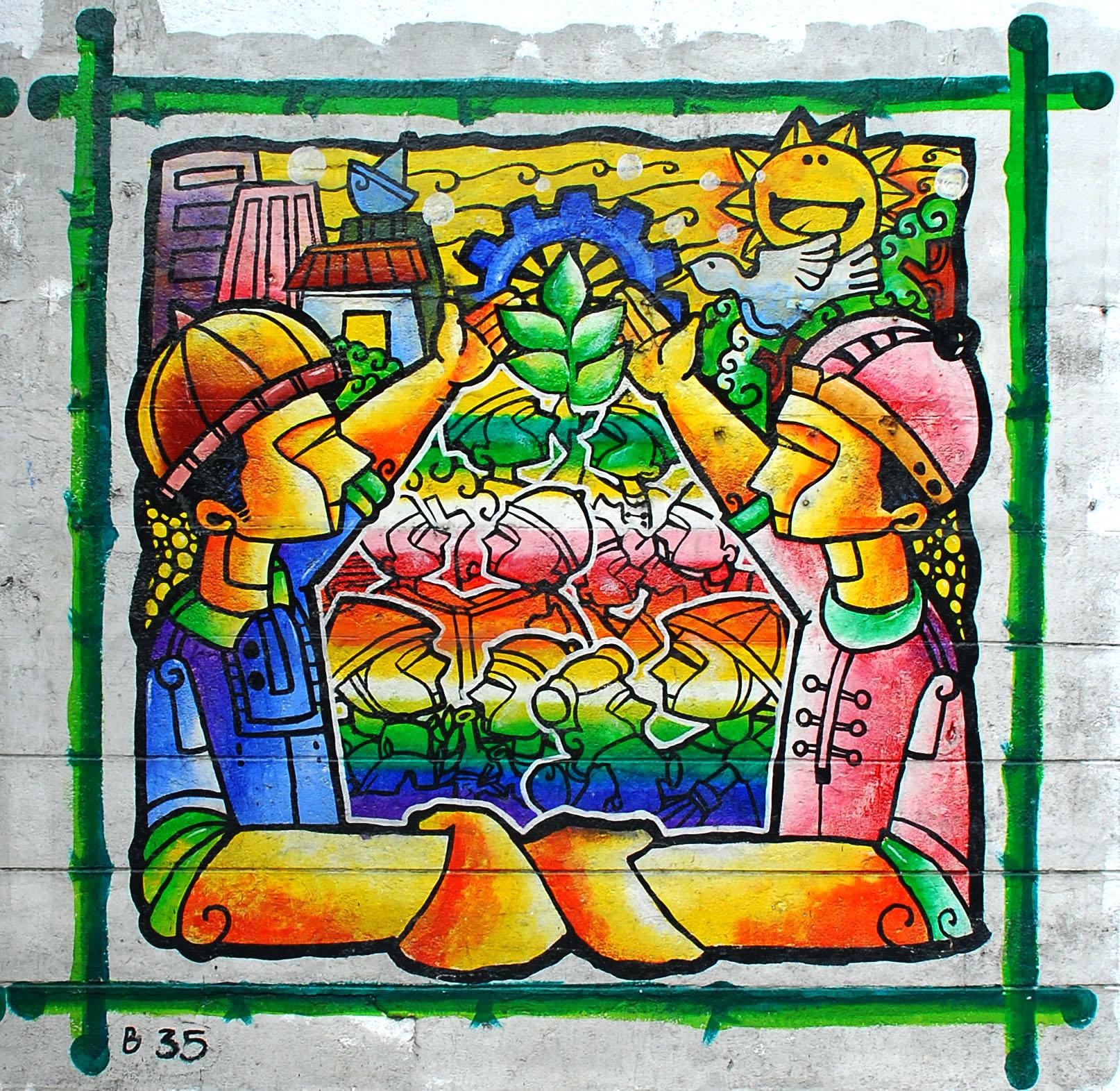 Murals Philippine Filipino Chinese Friendship Day 2007 39