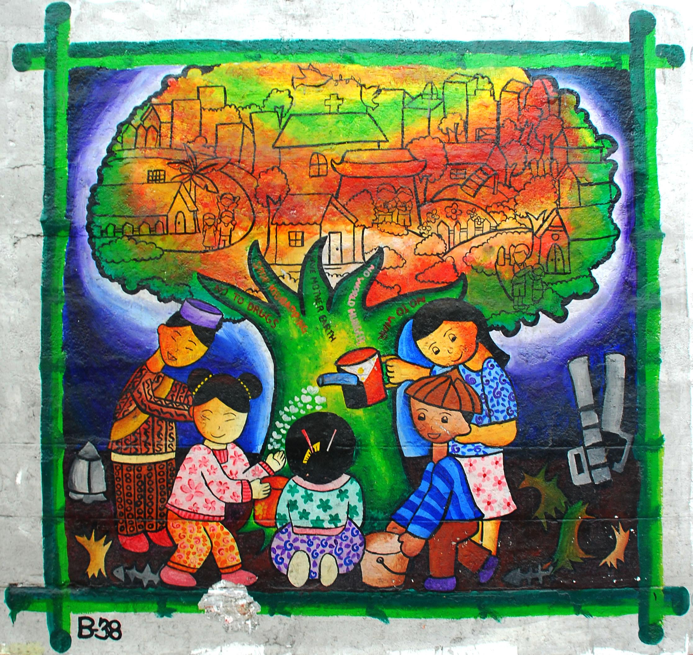Murals Philippine Filipino Chinese Friendship Day 2007 44