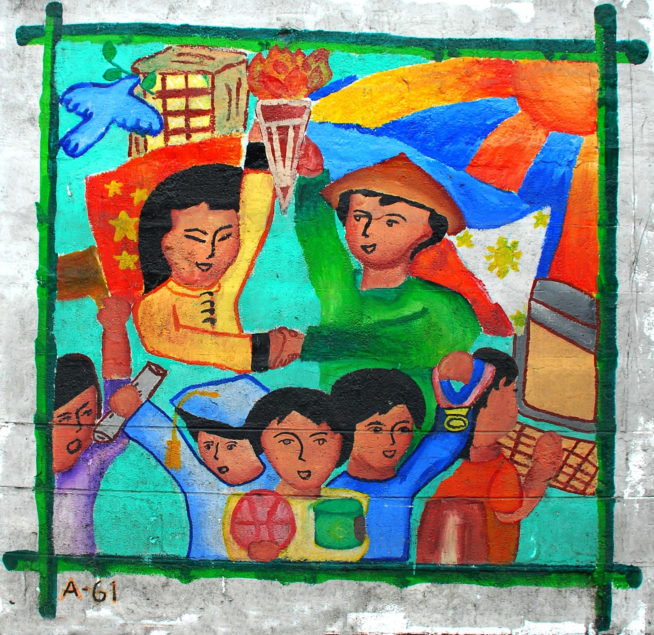 Murals Philippine Filipino Chinese Friendship Day 2007 48