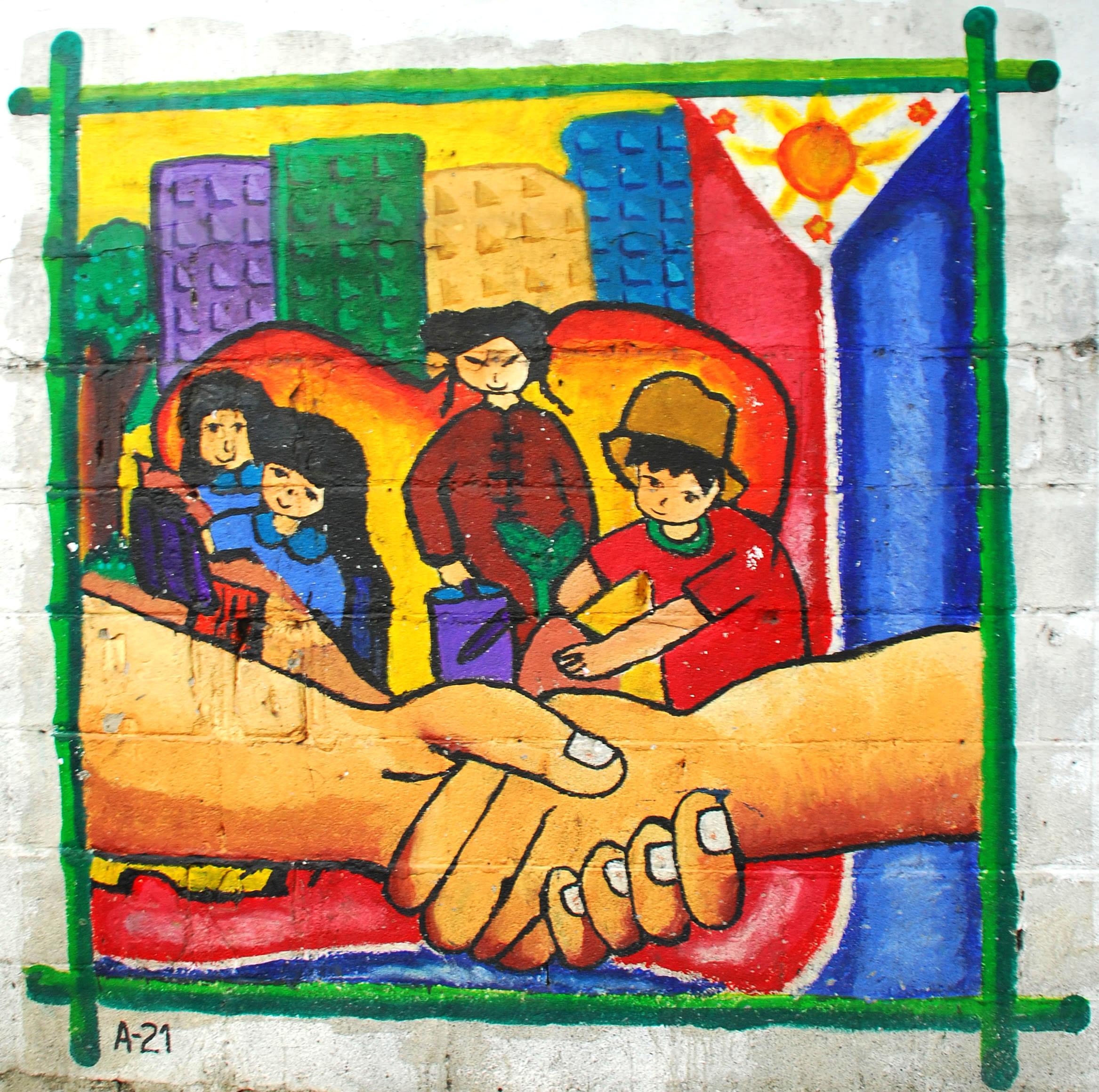 Murals Philippine Filipino Chinese Friendship Day 2007 69