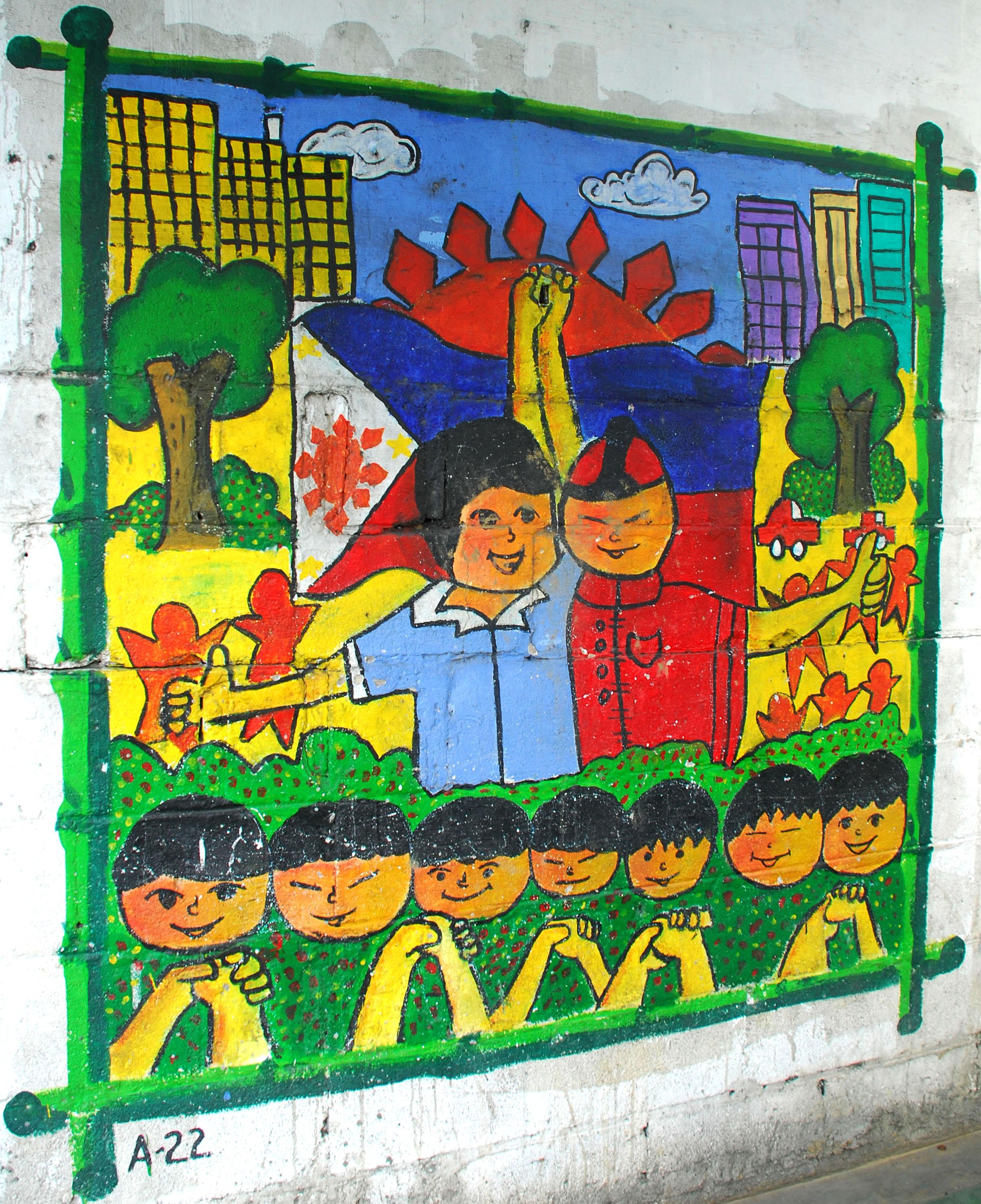 Murals Philippine Filipino Chinese Friendship Day 2007 70