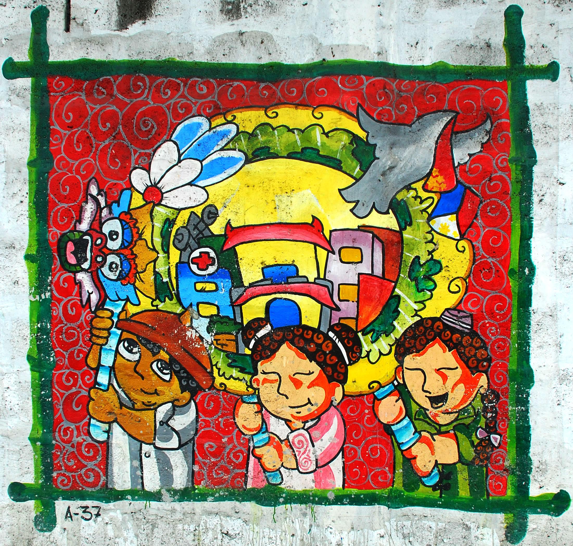 Murals Philippine Filipino Chinese Friendship Day 2007 85