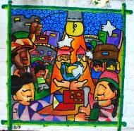 Asisbiz Murals Philippine Filipino Chinese Friendship Day 2007 08