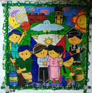 Asisbiz Murals Philippine Filipino Chinese Friendship Day 2007 09