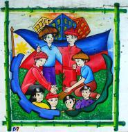 Asisbiz Murals Philippine Filipino Chinese Friendship Day 2007 10