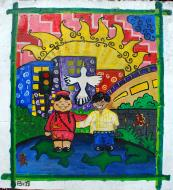 Asisbiz Murals Philippine Filipino Chinese Friendship Day 2007 18