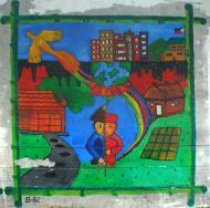 Asisbiz Murals Philippine Filipino Chinese Friendship Day 2007 30