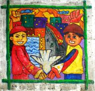 Asisbiz Murals Philippine Filipino Chinese Friendship Day 2007 64