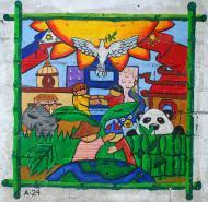 Asisbiz Murals Philippine Filipino Chinese Friendship Day 2007 72