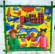 Asisbiz Murals Philippine Filipino Chinese Friendship Day 2007 75
