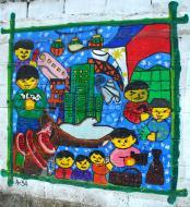 Asisbiz Murals Philippine Filipino Chinese Friendship Day 2007 82