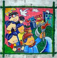 Asisbiz Murals Philippine Filipino Chinese Friendship Day 2007 86