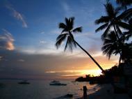 Asisbiz Philippines Central Visayas Bohol Panglao Island Sunset Dec 2005 06