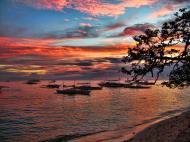 Asisbiz Philippines Central Visayas Bohol Panglao Island Sunset Dec 2005 12
