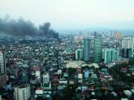 Asisbiz Philippines Roxas Triangle Makati Rockwell warehouse fire Dec 26 2004 07