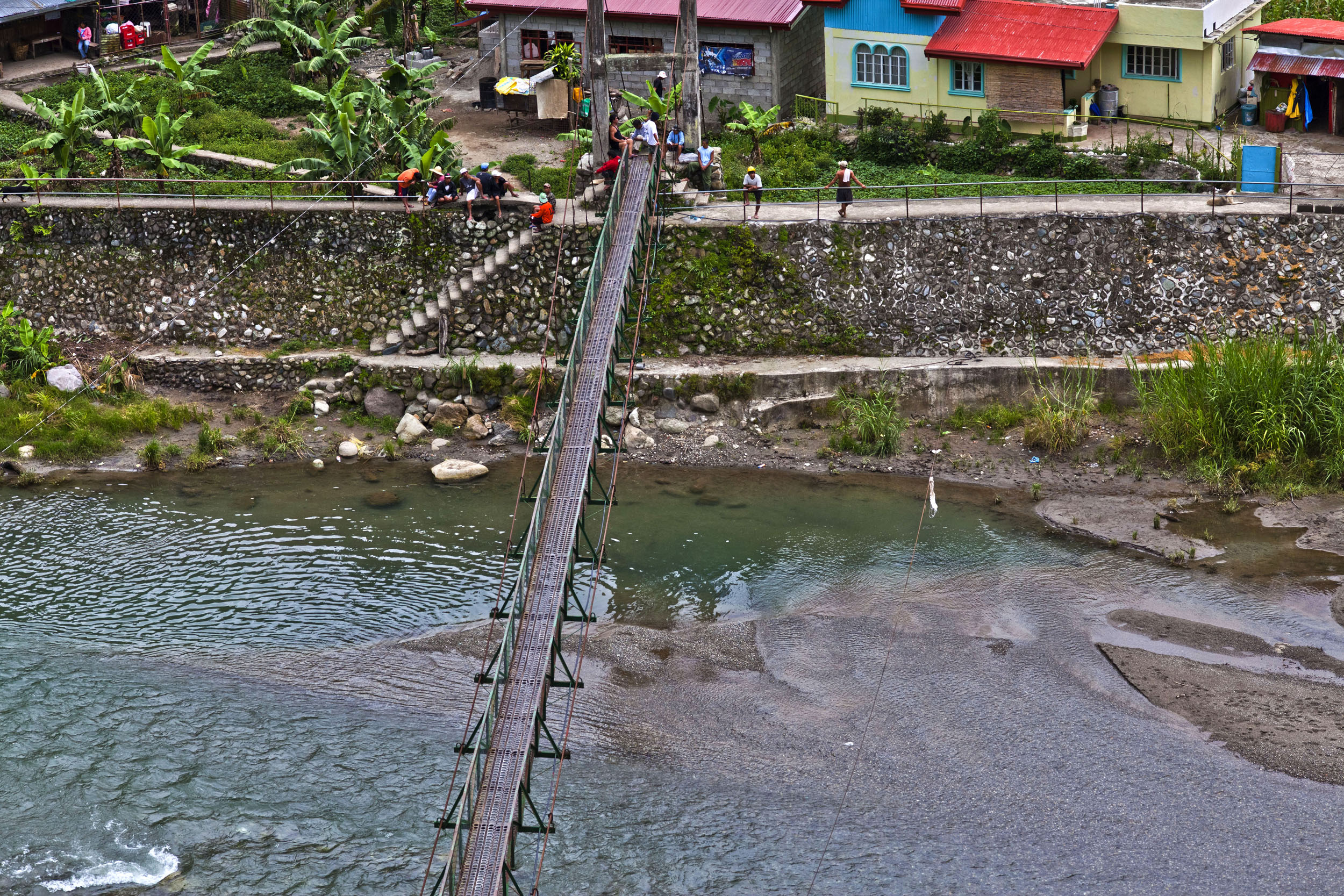 Local towns and villages along the Kabayan Rd Halsema Highway from Baguio to Sagada Aug 2011 16
