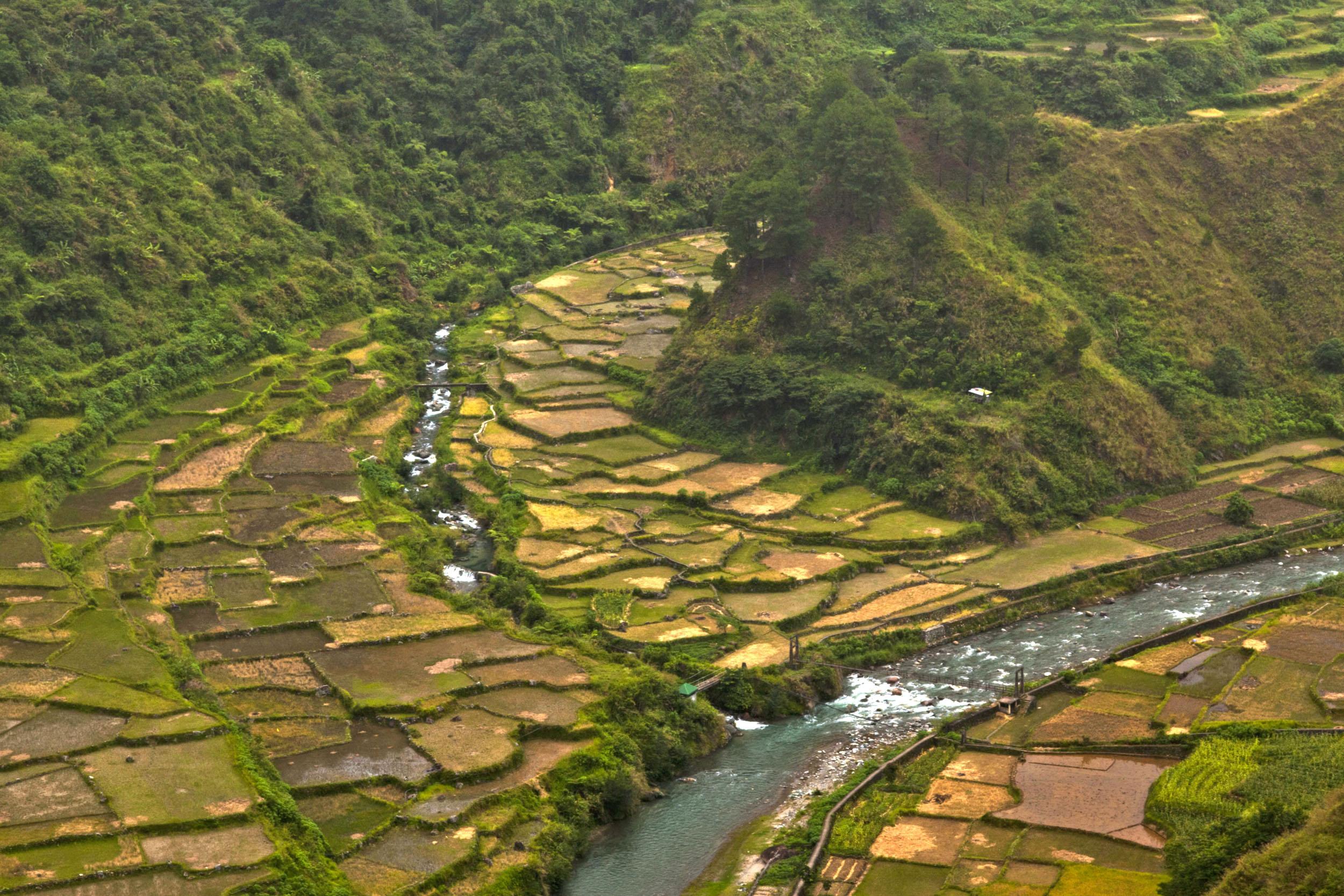 Panoramic views along the Kabayan Rd Halsema Highway from Baguio to Sagada Aug 2011 01