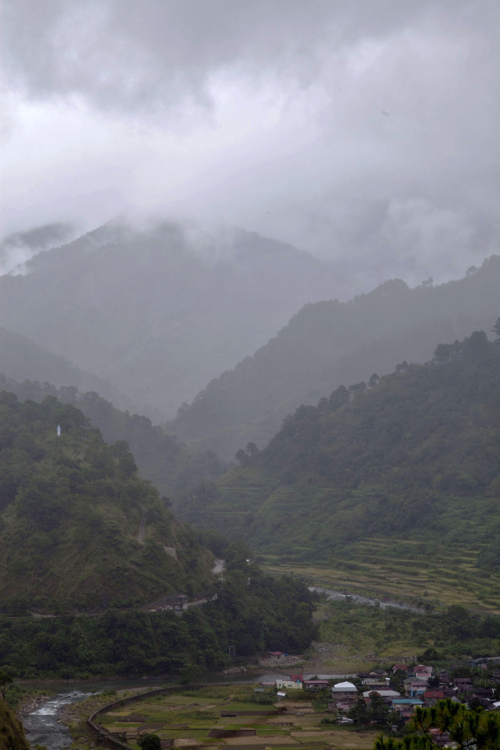 Panoramic views along the Kabayan Rd Halsema Highway from Baguio to Sagada Aug 2011 02