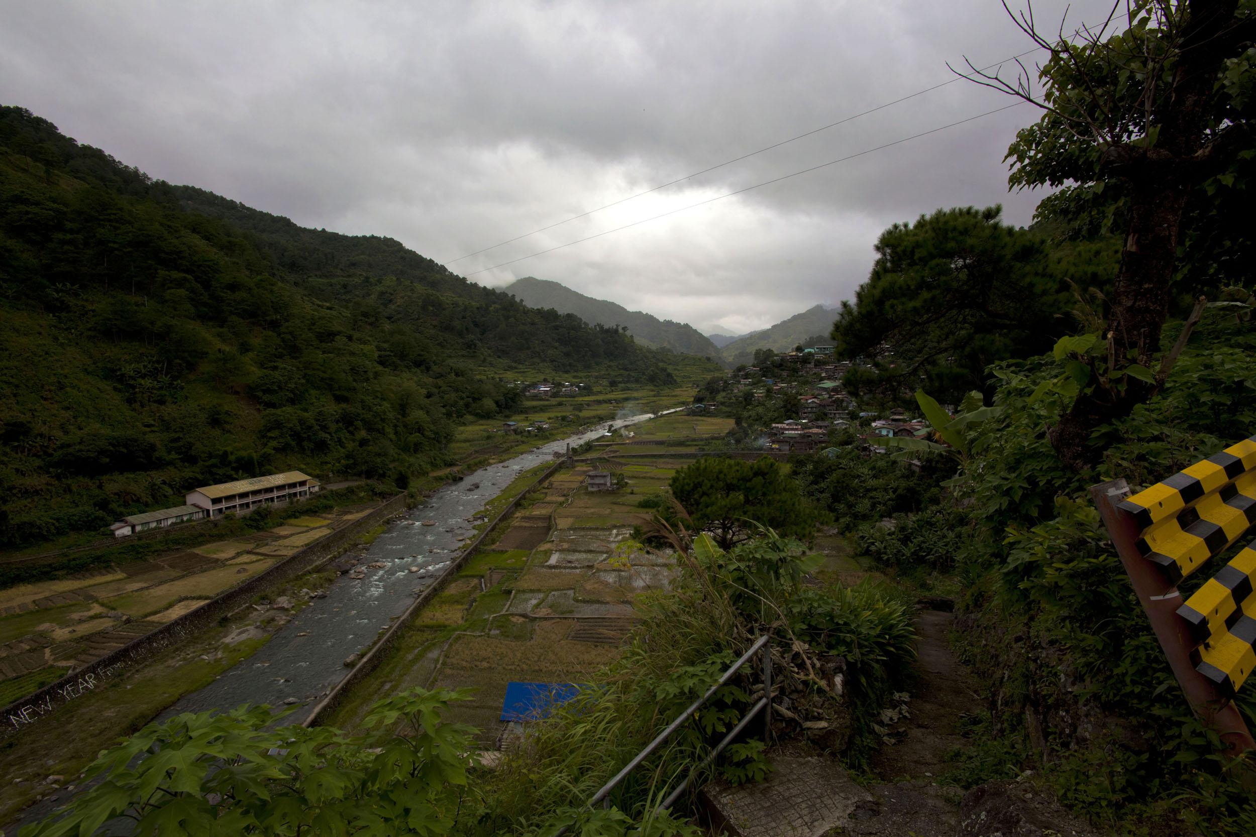 Panoramic views along the Kabayan Rd Halsema Highway from Baguio to Sagada Aug 2011 03