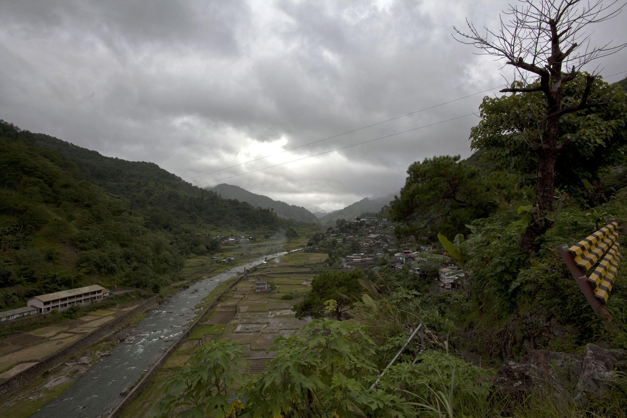 Panoramic views along the Kabayan Rd Halsema Highway from Baguio to Sagada Aug 2011 05