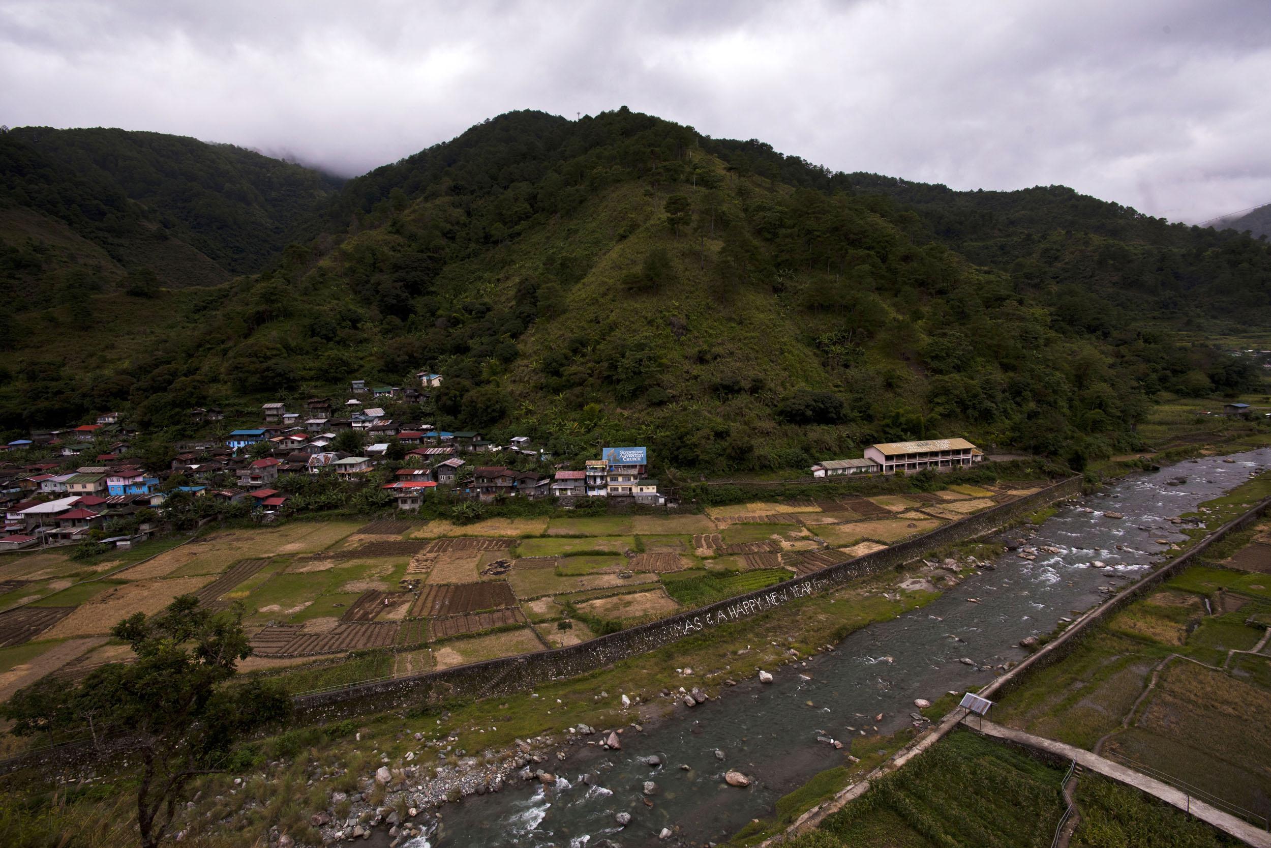 Panoramic views along the Kabayan Rd Halsema Highway from Baguio to Sagada Aug 2011 06